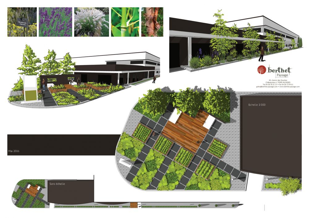conception de jardin thonon. Black Bedroom Furniture Sets. Home Design Ideas
